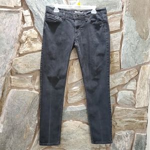 Levi's 524 Too Super Low Black Jeans sz 11
